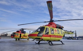 В больницах Крыма появятся вертолетные площадки