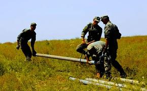 Военные заканчивают разбирать водовод «Белогорск-Симферополь»