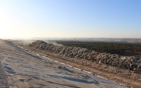 В Каменке будут очищать воду, стекающую со свалки