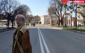 Центр Симферополя под усиленной охраной из-за приезда Путина