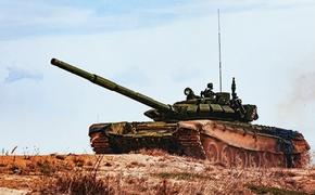 На танки в Крыму наваривают решетки