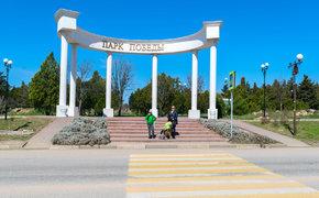 Работы в парке Победы Севастополя подходят к концу