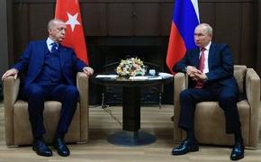 Путин у Эрдогана «Чей Крым?» не спросил