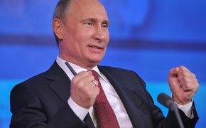 Путин запустил в Крыму два новых энергоблока