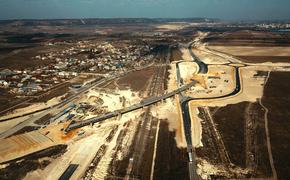 На «Тавриде» строят самый большой путепровод