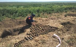 На востоке Крыма нашли два склада боеприпасов