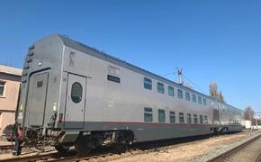 В Севастополь прибыли первые двухэтажные поезда