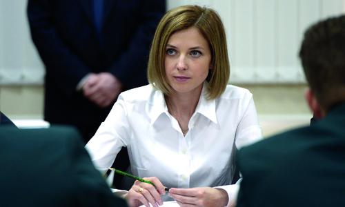 Депутат Поклонская просит Аксенова разобраться с Керчью
