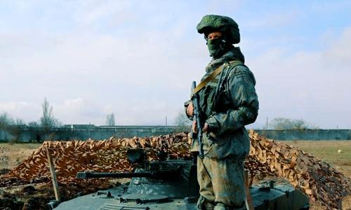 Ангарский танковый полигон и Долгоруковская яйла перекопаны, как в войну