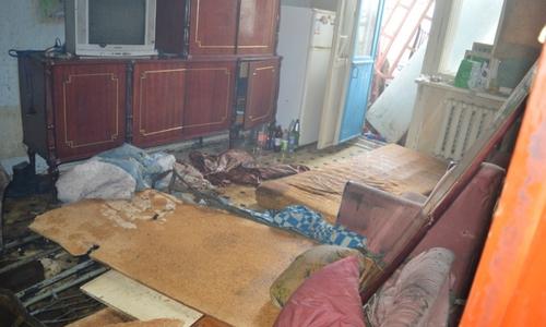 На пожаре в жилом здании Севастополя погиб человек