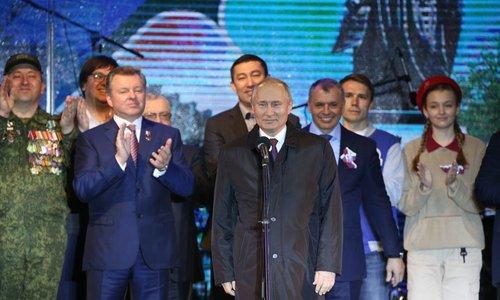 «Крымская весна» с Путиным