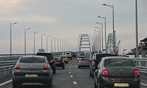 Крымский мост пропустил через себя новый рекорд