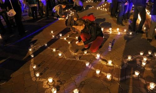 На акцию памяти депортированных народов журналистов пускали по спискам