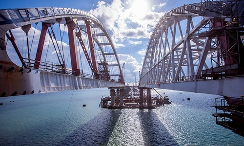 В августе по мосту в Крым приехало 845 тысяч машин