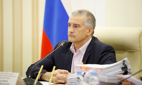 Аксенов подписал заявление своего зама об увольнении