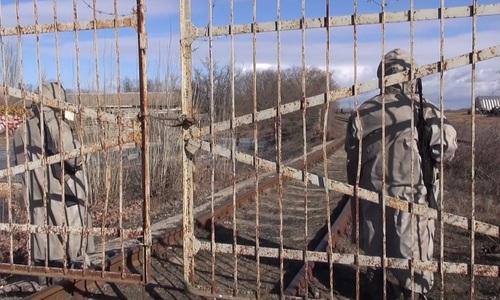 В Севастополе силовики спасали поезд от «террористов»