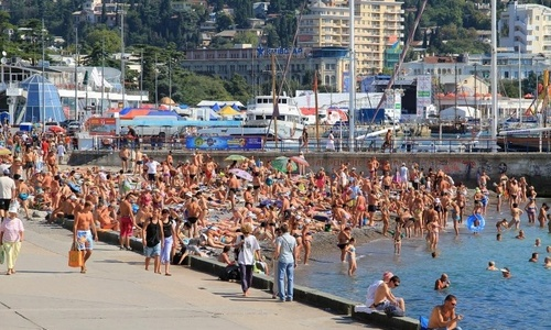 В Крыму объяснили большой приток туристов