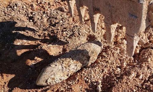 Найденную в аэропорту «Бельбек» бомбу взорвут на месте