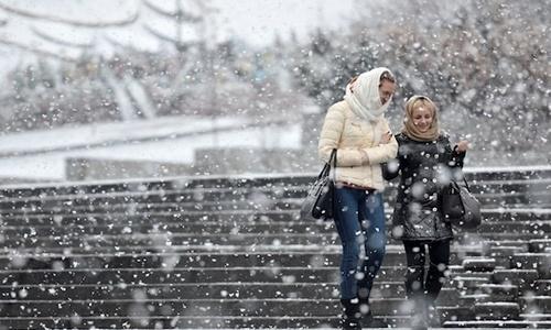 С понедельника в Крым вернутся сильные морозы
