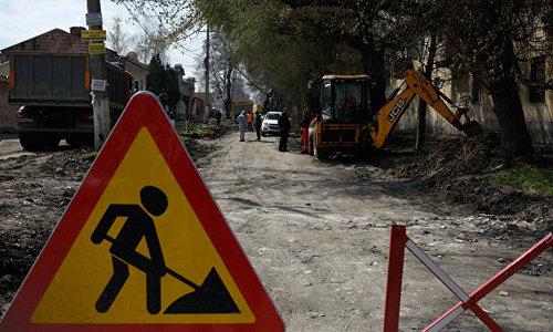 Дорожно-мусорный коллапс в столице Крыма