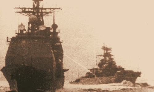 Зачем черноморцы гнались за американцами по Черному морю?