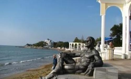 Евпаторию признали самым чистым городом Крыма
