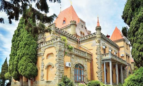 Дворец княгини Гагариной отрезали от остального мира