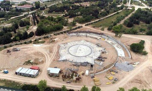 Следить за реконструкцией парка Победы можно онлайн