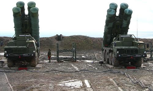 «Триумф» контролирует пространство над Крымом