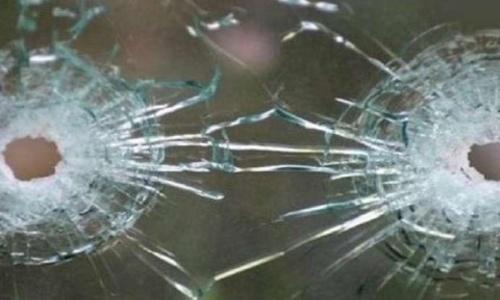 Под «обстрел» попал один автомобиль ТРК «Крым»