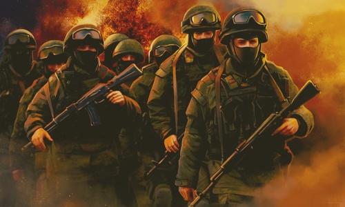 Военные Крыма тренируются в условиях, максимально приближенных к боевым