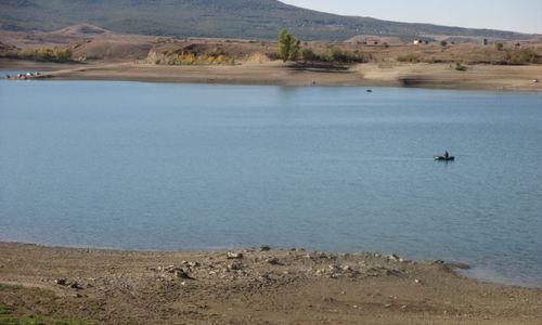 Пришла вода: В Крыму переполнено Тайганское водохранилище