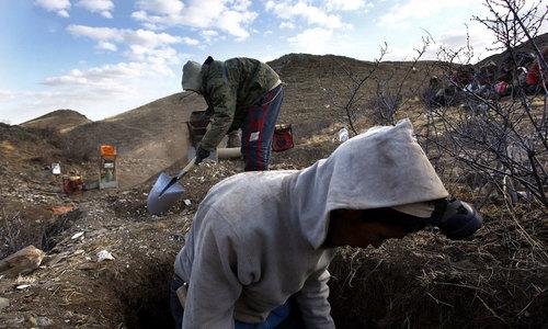 В Севастополе поймали «черных копателей»