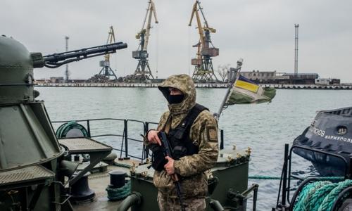 Украина усилила охрану своих морпортов