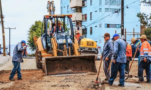 Асфальт на Крым кладут 13-сантиметровым слоем