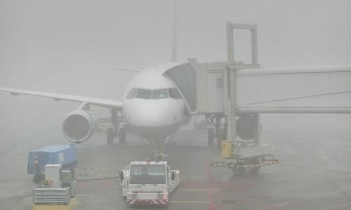 Из-за тумана в Симферополе самолет посадили в Анапе
