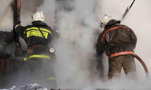 На пожаре под Белогорском спасли мужчину