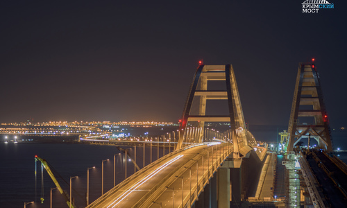 Первый поезд проедет по Крымскому мосту уже в августе