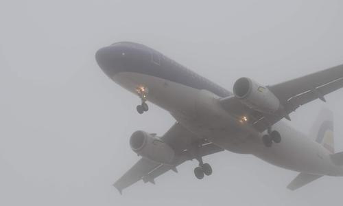 Из-за тумана в аэропорту Симферополя задерживаются 20 рейсов