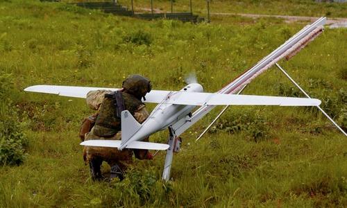 Военные «выгуляли» беспилотники над Крымом