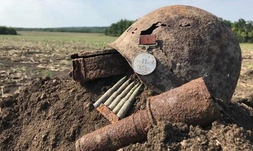В центре Севастополя обнаружены останки солдат, погибших в годы войны