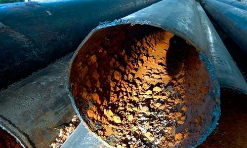 Сель забил водопроводные трубы в Ялте на 90%