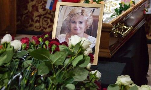 В Крыму простились с погибшей в лобовом ДТП Глушко