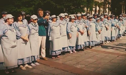С дворниками в Ялте беда. И дело не в голубых костюмах Имгрунта