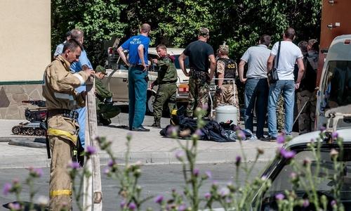 Игры со взрывчаткой в Симферополе устроил неадекватный мужчина