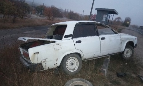 В ДТП под Белогорском разбилась легковушка