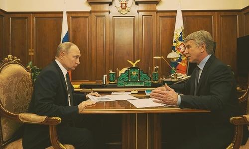 «Новатэк» доложила Путину, что посматривает на юг, но слово «Крым» не прозвучало