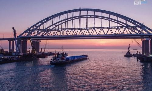 В Украине разработали угрозу Крымскому мосту