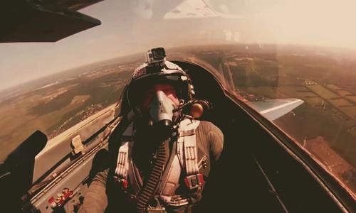 Крымские летчики залетели в стратосферу