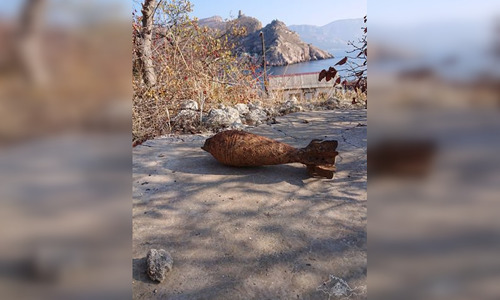 В Балаклаве нашли несколько опасных снарядов